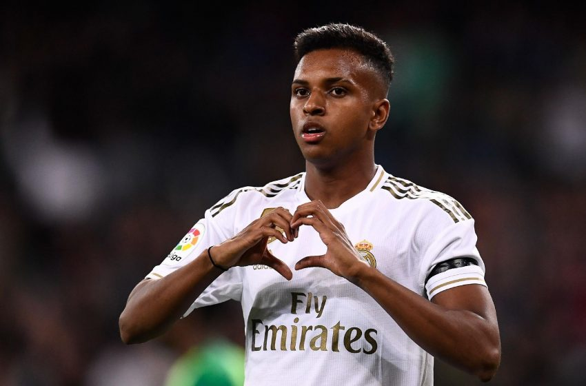 Rodrygo na final do Golden Boy